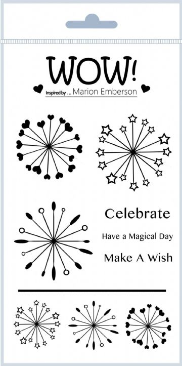 Starburst (by Marion Emberson) - Clear Stamp Set